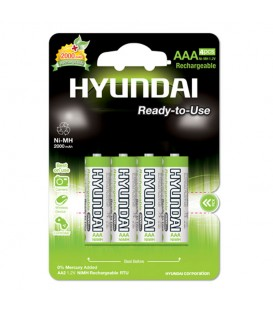 باتری شارژی نیم قلم چهارتایی مدل هیبرید نیکل فلز هیوندای
